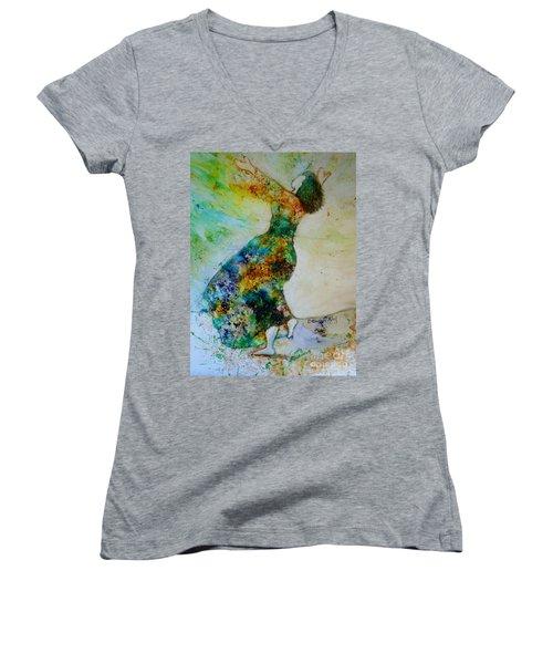 Victory Dance Women's V-Neck T-Shirt
