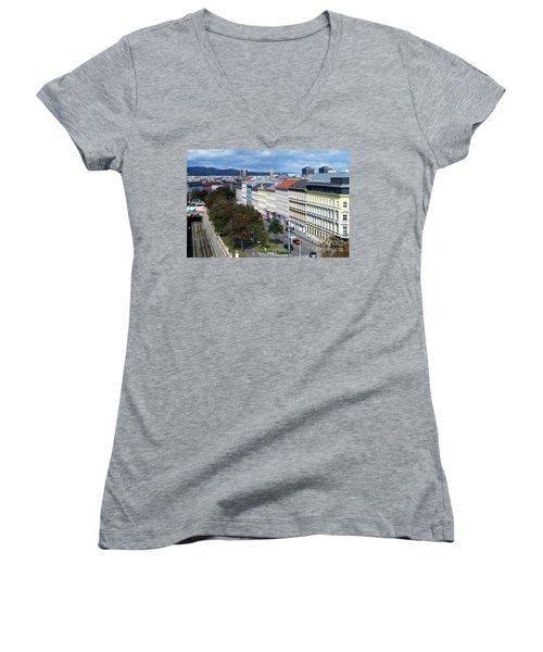 Vienna Beltway Women's V-Neck T-Shirt