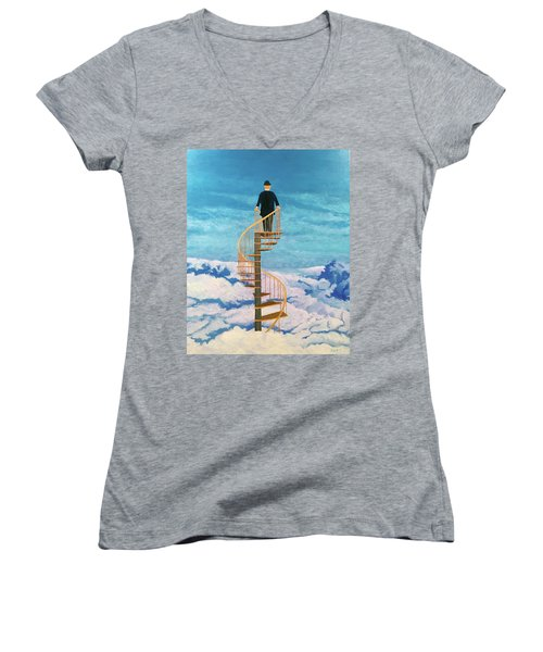 View From Above Women's V-Neck