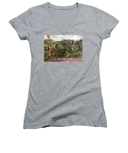 View From The Deck Women's V-Neck