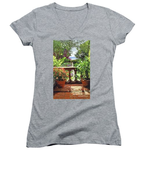 View From The Royal Garden Women's V-Neck