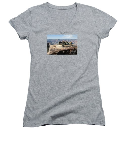 Viewing Infinity Women's V-Neck