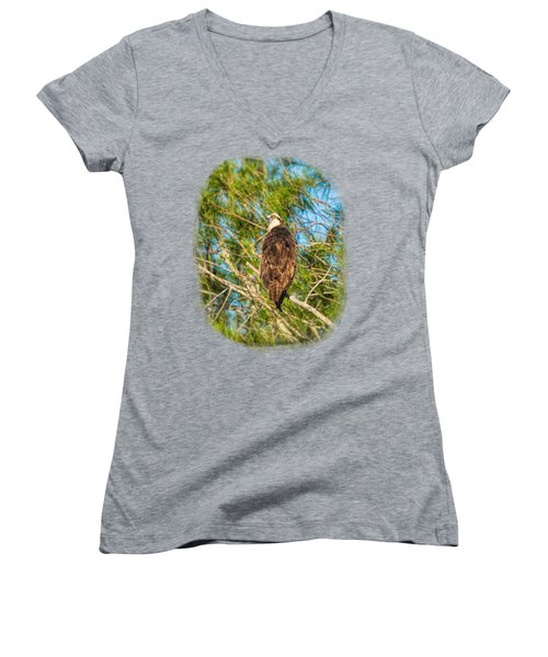 Vigilance 2 Women's V-Neck T-Shirt