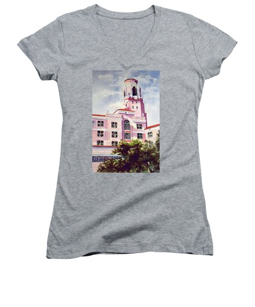 Vinoy, Renaissance Revisted Women's V-Neck T-Shirt