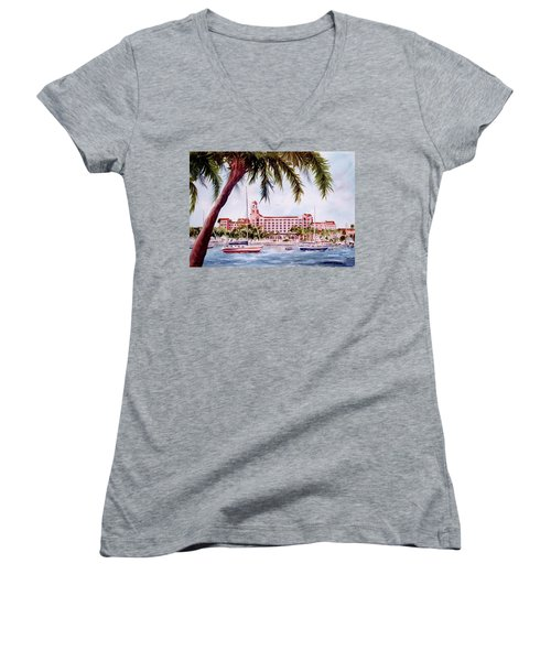 Vinoy View Women's V-Neck T-Shirt