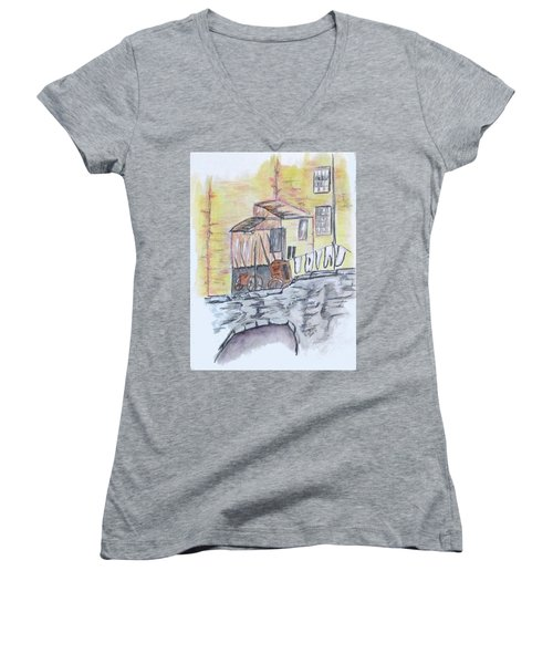 Vintage Wash Day Women's V-Neck