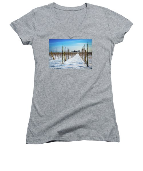 Vinyard On Down Road  Women's V-Neck