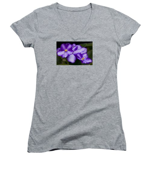 Violet Dreams Women's V-Neck
