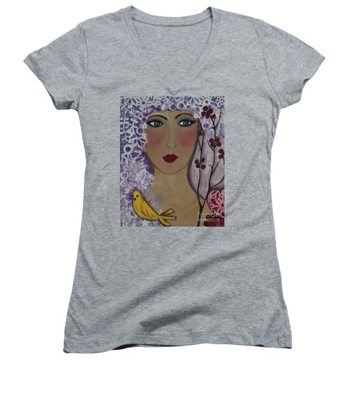 Violet Queen Women's V-Neck