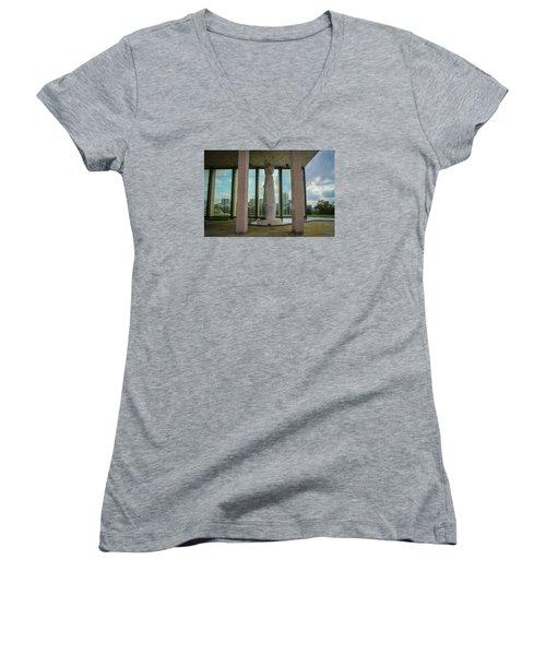 Virginia War Memorial Women's V-Neck T-Shirt