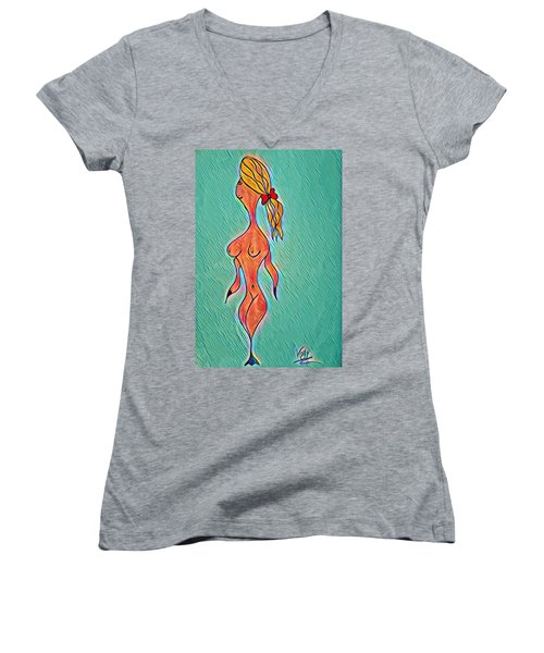 Virgy Women's V-Neck