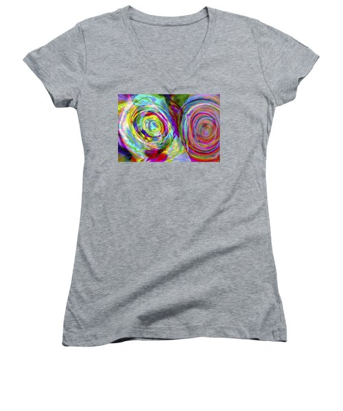 Vision 44 Women's V-Neck T-Shirt