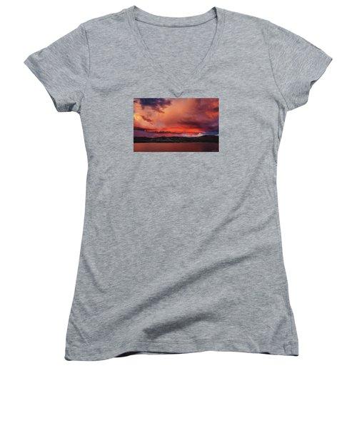 Visitation Women's V-Neck T-Shirt (Junior Cut)
