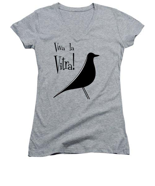 Vitra Transparent Women's V-Neck (Athletic Fit)