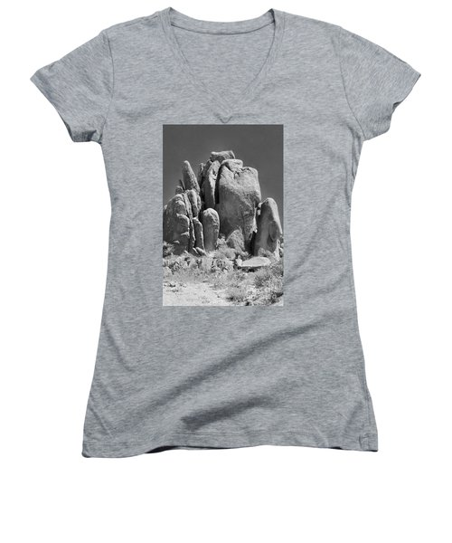 Volcano Fail Women's V-Neck T-Shirt (Junior Cut)