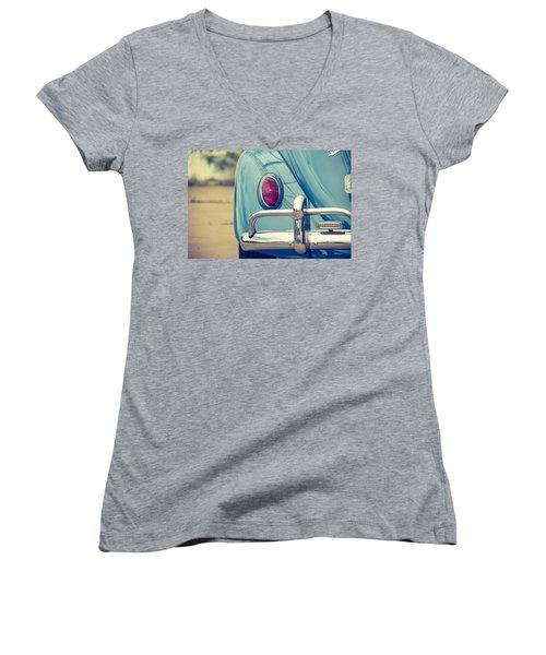 Volkswagen Beetle Women's V-Neck