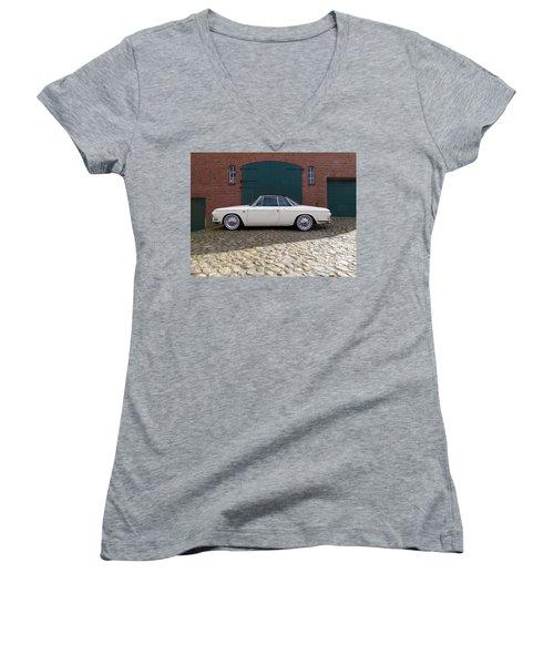 Volkswagen Karmann Ghia Women's V-Neck