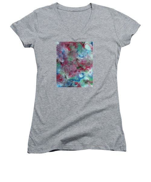 Walk In The Woods Women's V-Neck T-Shirt