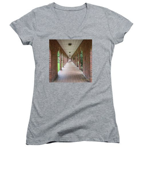 Walk Of Honor 3 Women's V-Neck T-Shirt