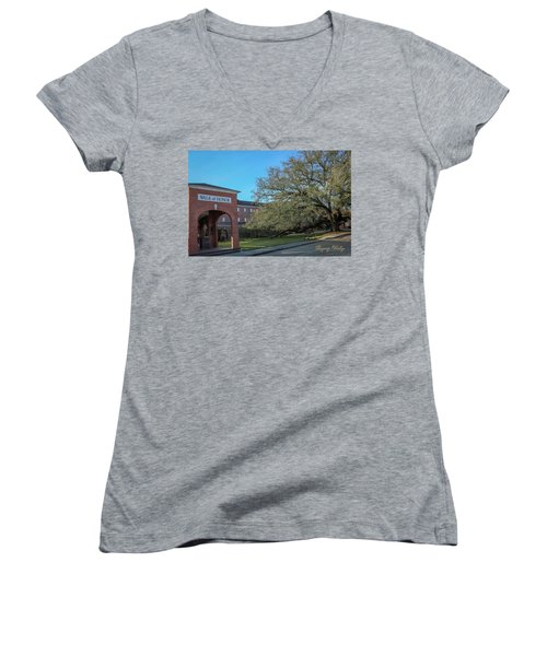 Walk Of Honor Entrance Women's V-Neck T-Shirt