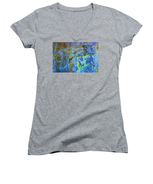 Wall Abstraction I Women's V-Neck