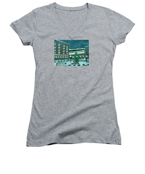 Waltham Hospital On Hope Ave Women's V-Neck T-Shirt