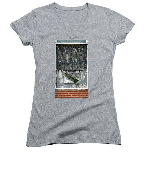 War House Women's V-Neck (Athletic Fit)