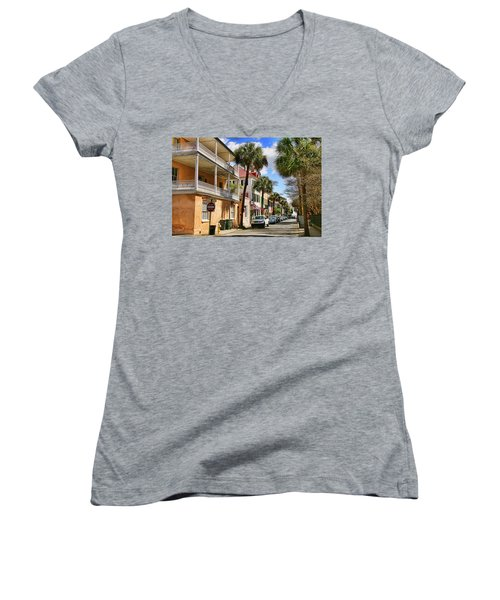 Warm Invite Women's V-Neck T-Shirt