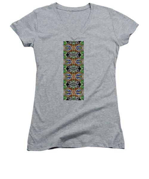Warrior 3 Women's V-Neck T-Shirt