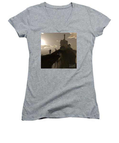Warrior Fae Women's V-Neck T-Shirt