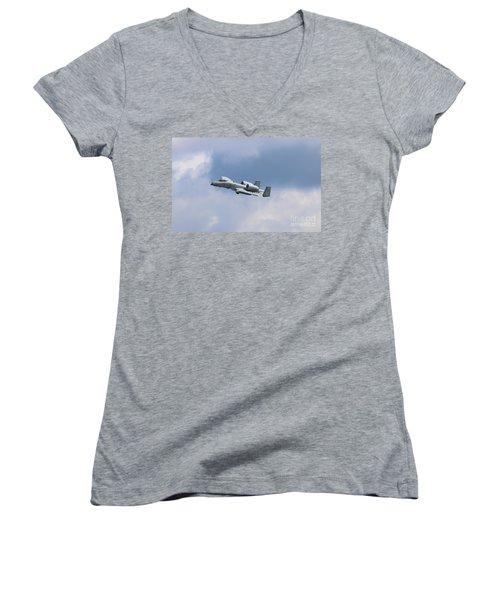 Wart Hawg 1 Women's V-Neck T-Shirt