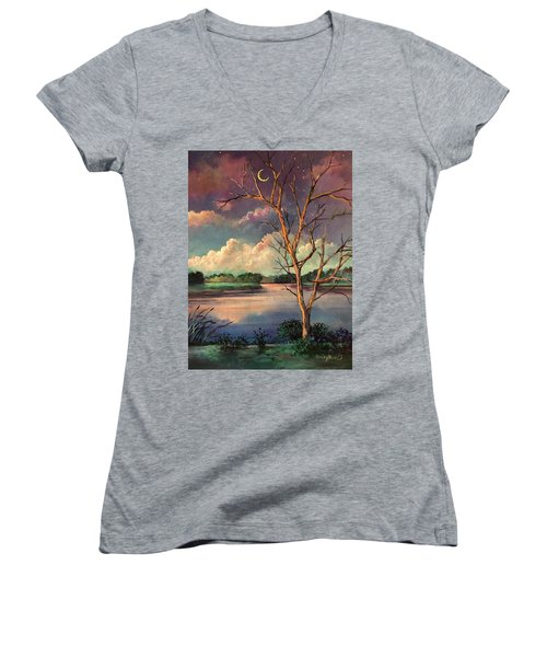 Was Like Stained Glass Women's V-Neck T-Shirt