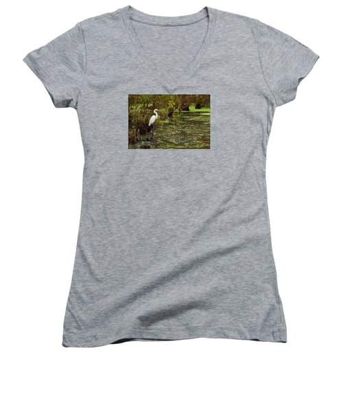 Watchful Eye Women's V-Neck T-Shirt