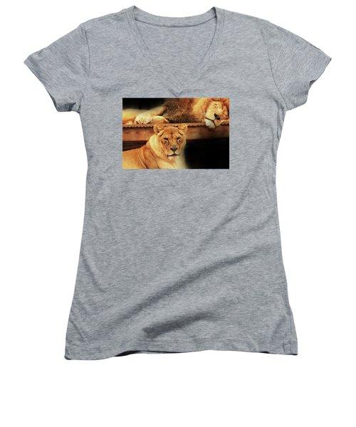 Watchful Eye Women's V-Neck T-Shirt