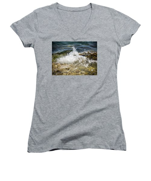 Water Elemental Women's V-Neck (Athletic Fit)