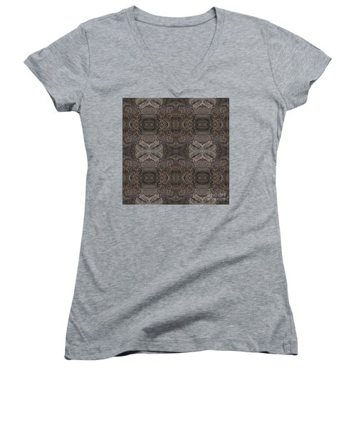 Water Pattern Women's V-Neck