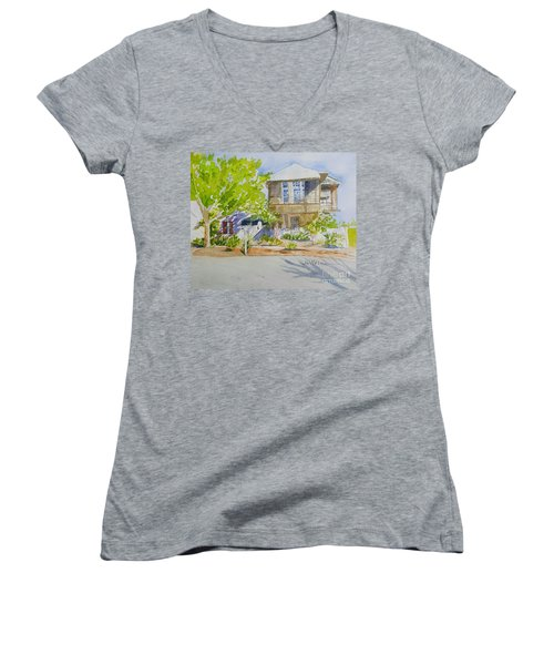 Water Street, Rosemary Beach Women's V-Neck T-Shirt
