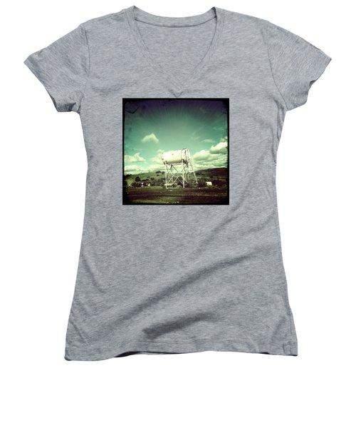 Water Tower Women's V-Neck T-Shirt