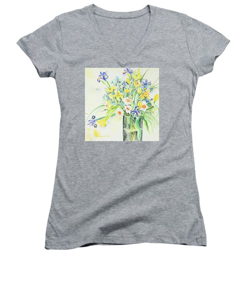 Watercolor Series 143 Women's V-Neck