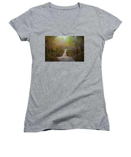 A Place Of Peace  Women's V-Neck T-Shirt