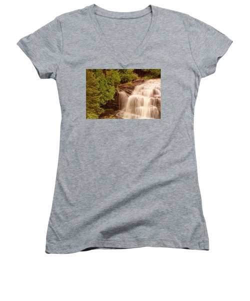 Waterfall Women's V-Neck