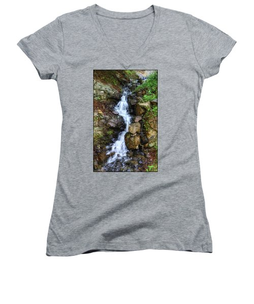 Waterfalls Women's V-Neck