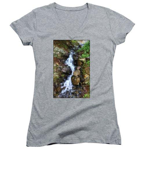 Waterfalls Women's V-Neck
