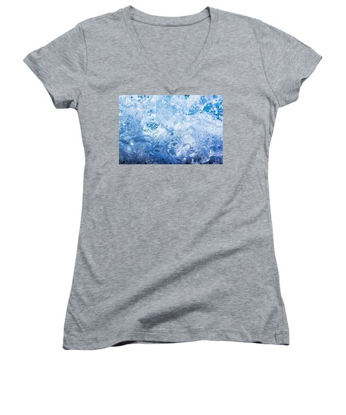 Wave With Hole Women's V-Neck
