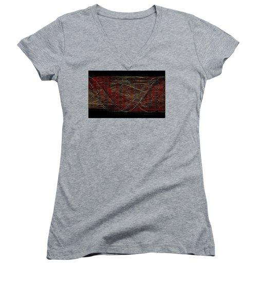 Abstract Visuals - Wavelengths Women's V-Neck