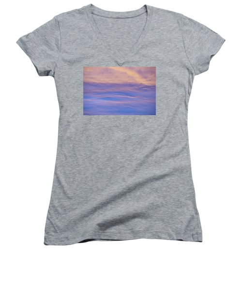Waves Of Color Women's V-Neck