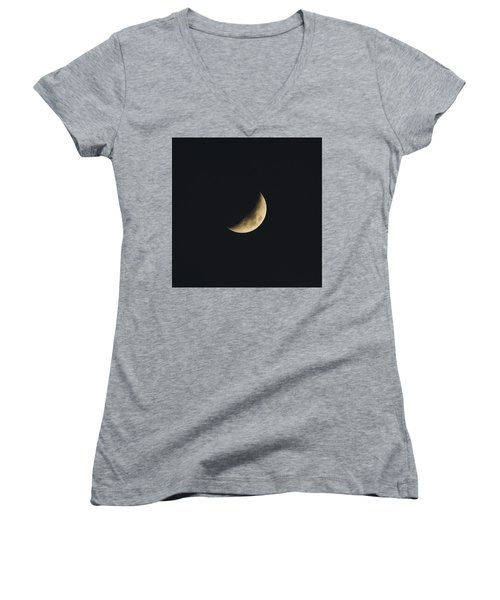 Waxing Crescent Spring 2017 Women's V-Neck