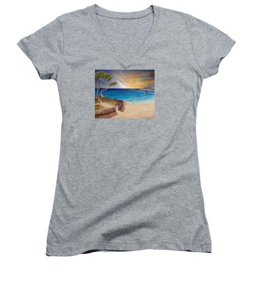 Way To Escape Women's V-Neck T-Shirt