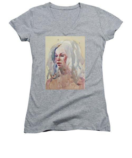 Wc Portrait 1617 Women's V-Neck T-Shirt