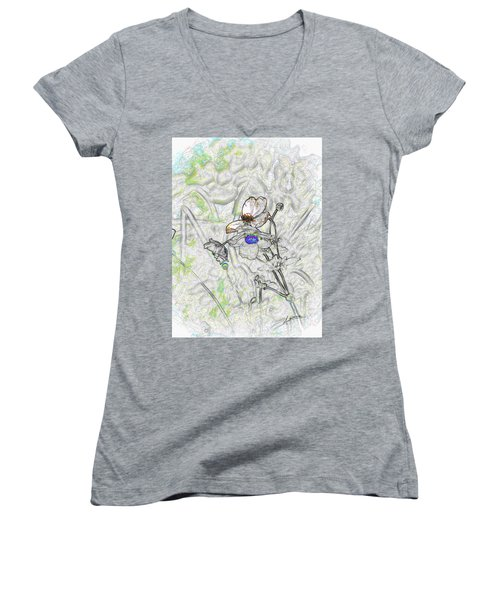 We Fade To Grey 4 Part 3 Women's V-Neck